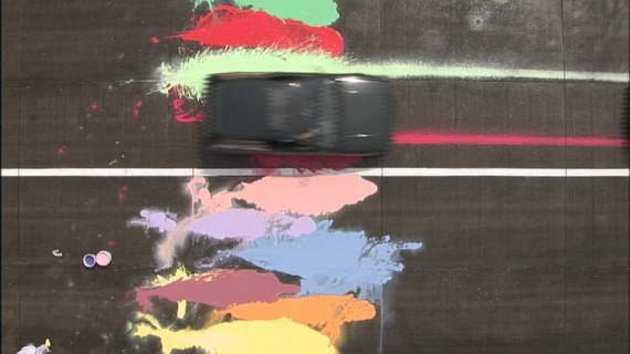 'Automotive Action Painting', George Barber 2006