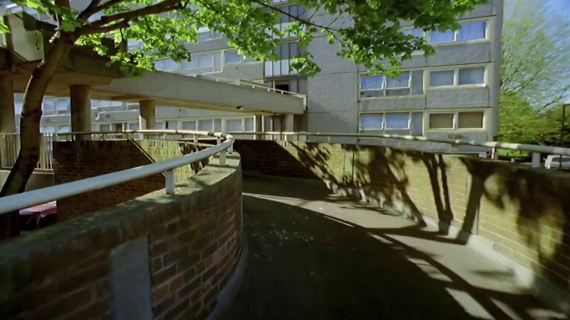 'IMITATION OF LIFE: Children's Games, Heygate Estate', Mark Lewis 2002