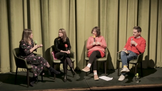 Jane & Louise Wilson panel discussion and Q&A. Regent St Cinema, London